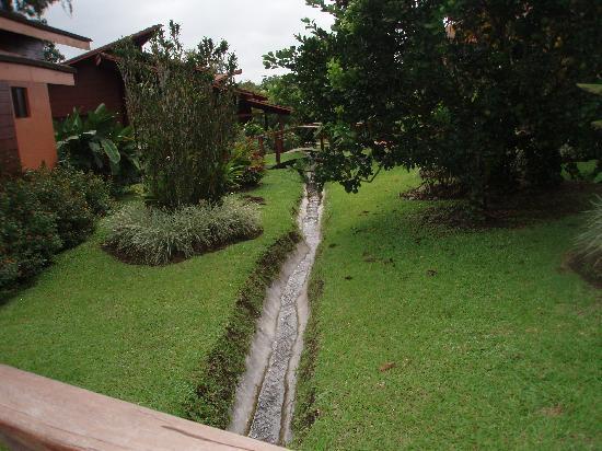 Hotel El Silencio del Campo: el jardin