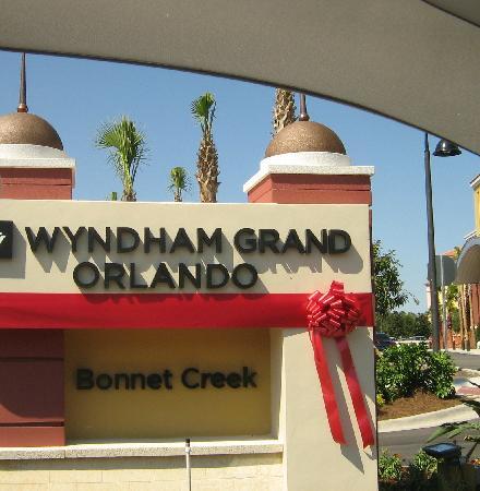 Wyndham Grand Orlando Resort Bonnet Creek: Grand Opening