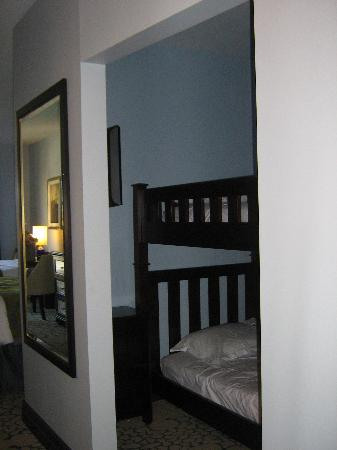Wyndham Grand Orlando Resort Bonnet Creek: Bunk Bed in the Deluxe room