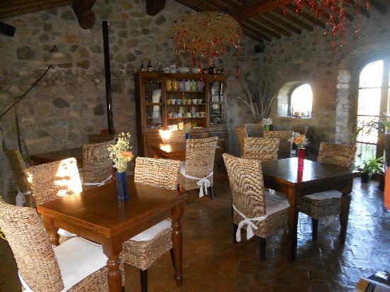 Agriturismo La Bell'Antiglia: la sala colazioni