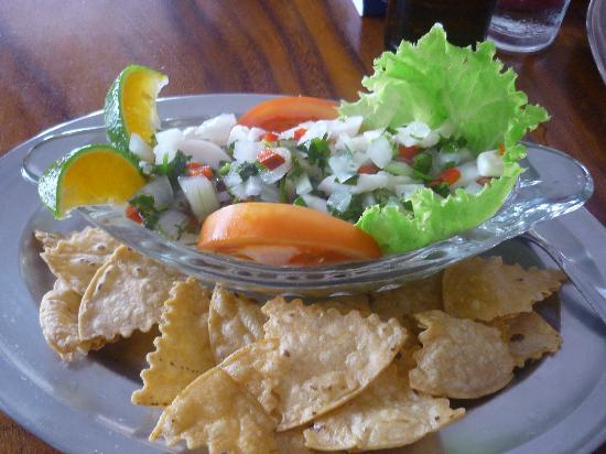 Soda El Rio: Ceviche