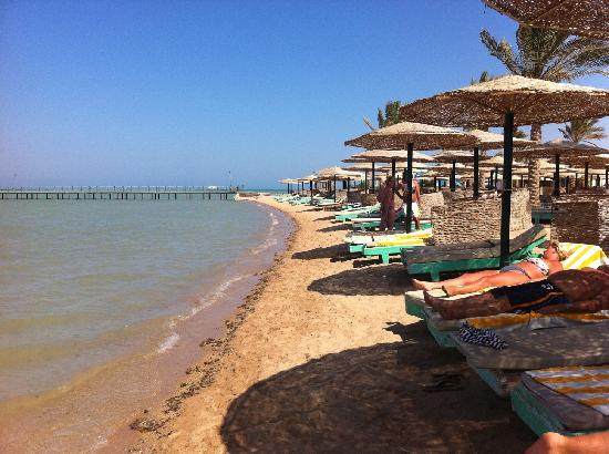 the private beach The Movie Gate Hurghada 4, Єгипет,  Хургада - photo