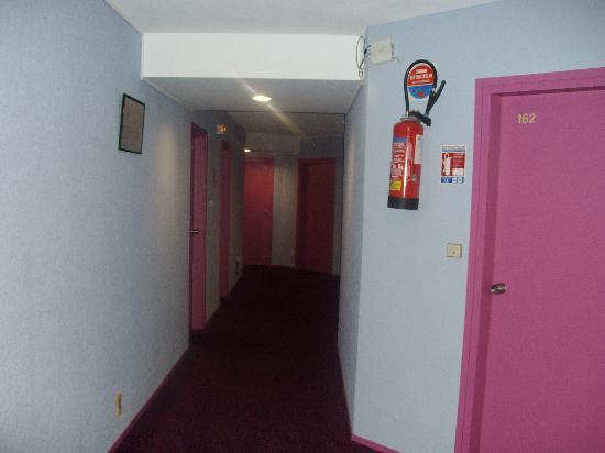 Hotel Dupleix : corridoio