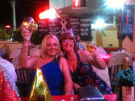 Andy's Restaurant & Bar: Anne & Teresa