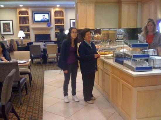 Hampton Inn Albany-Western Ave/University Area: exquisito desayuno