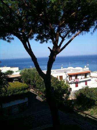 Hotel Parco Maria Terme: vista della baia dalla camera