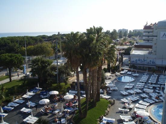 Aqua Hotel Aquamarina : View from room