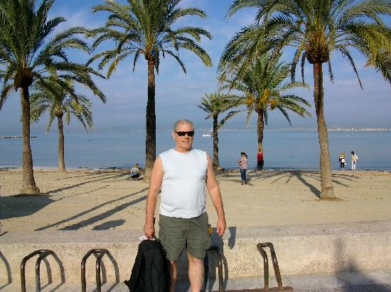 Hotel Palma Mazas: The front's great
