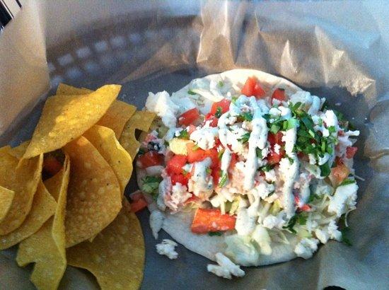 Quicks Hole Taqueria: taco!!
