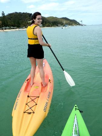 Adventure Moreton Island: stand up paddle boarding