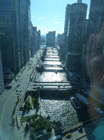 Wyndham Grand Chicago Riverfront: Vista desde la habitación piso 35
