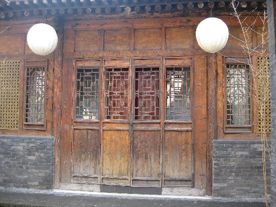 Jing's Residence: Front of our courtyard suite