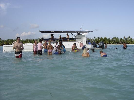 Pro excursions Bayahibe: il est genial le catamaran