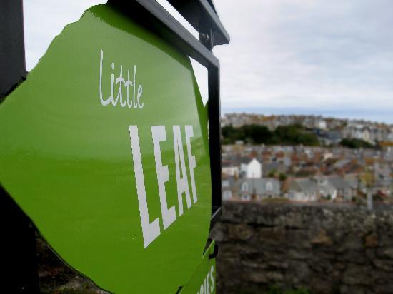 Little Leaf Guest House: Little Leaf's Sign