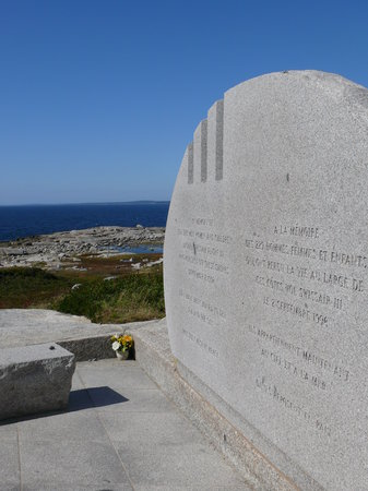 Peggy's Cove, Kanada: The Memorial