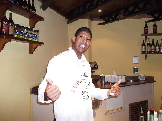 Majestic Colonial Punta Cana: Tigger Woods makes the best cofee ever