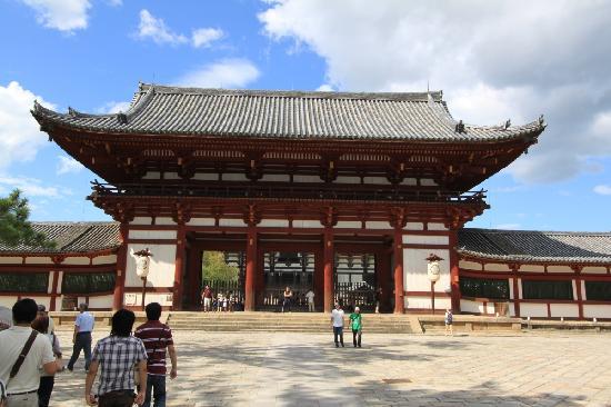 Todaiji Temple gate - Picture of Todai-ji Temple, Nara - TripAdvisor