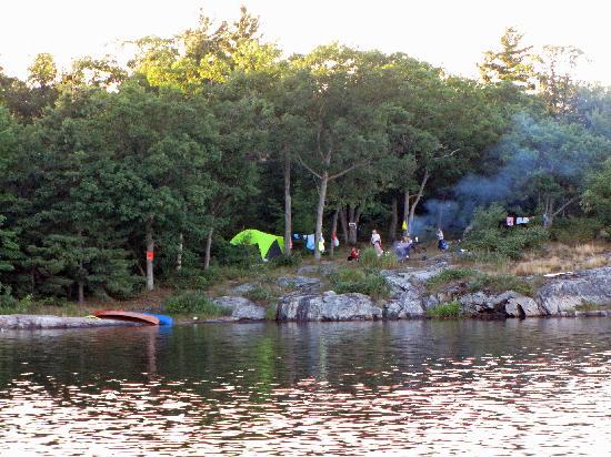 Massasauga Provincial Park: Campsite