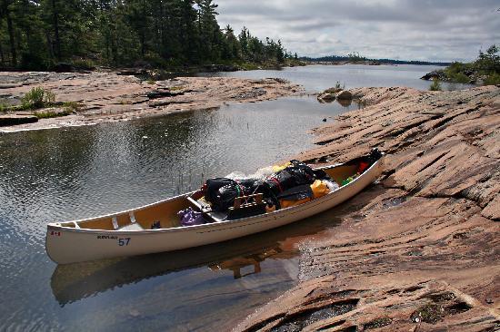Massasauga Provincial Park : Campsite