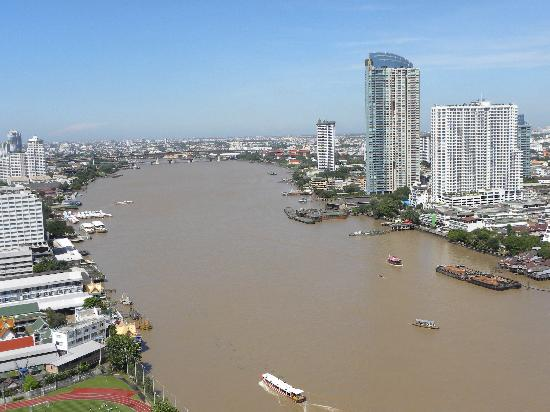 Chatrium Hotel Riverside Bangkok Our First View Of From 26th Floor