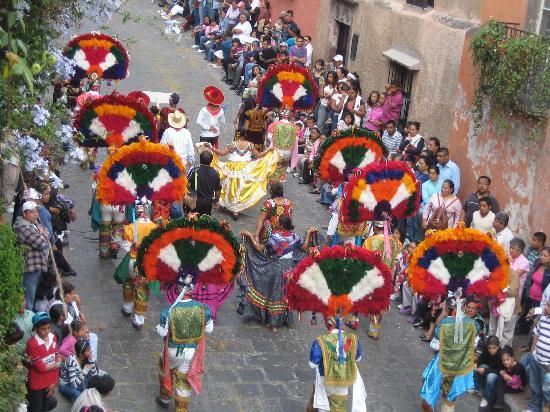 San Miguel de Allende, Mexico: entrada de los xuchiles