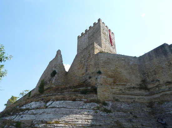 Enna, Italy: The castle