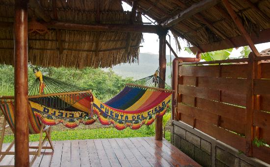 Hacienda Puerta Del Cielo Eco Spa: Each room has its own custom hammock