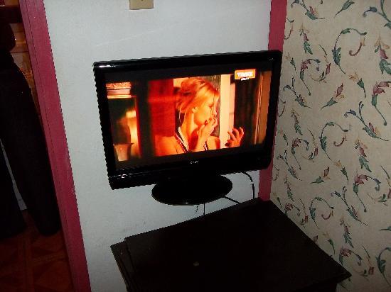 Hotel Gloriana & Spa: Poorly Mount Small screen