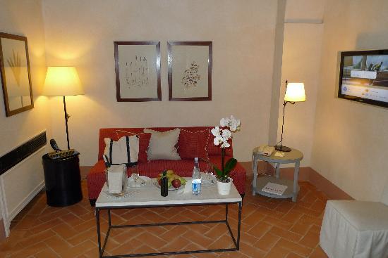 Castello del Nero Hotel & Spa: Living Area