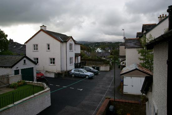 Badgers Wood Guest House: view from our window
