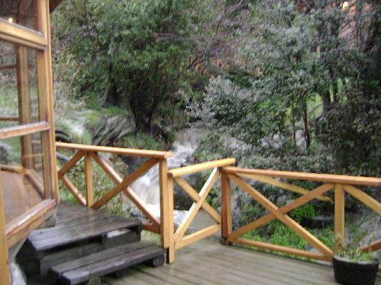 Apart Hotel del Arroyo: el arroyo