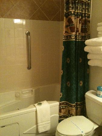 Sunrise Inn Villas And Suites : Anaco Inn bath