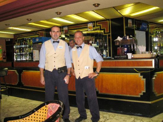Hotel Best Cambrils: javier on the right