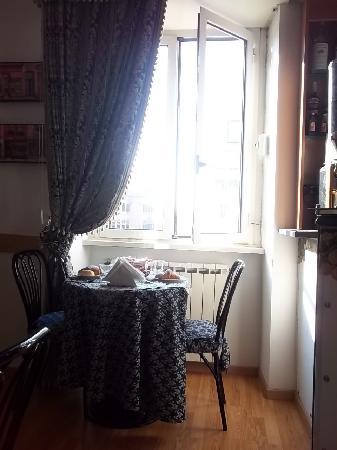 Hotel Margaret Rome: Lugar del desayuno