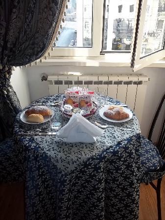 Hotel Margaret Rome: El desayuno