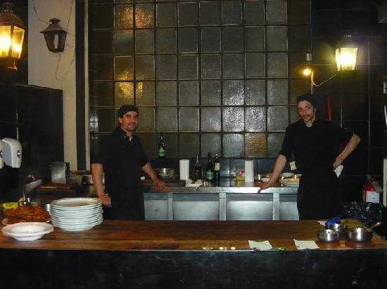 1884 Restaurante Francis Mallmann: Kitchen
