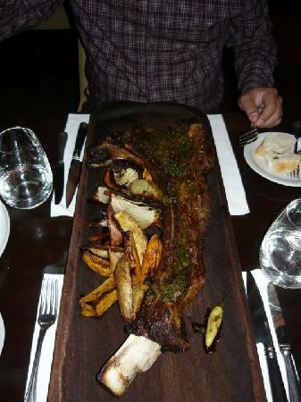 1884 Restaurante Francis Mallmann: Bisteca