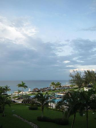 Secrets St. James Montego Bay: View from third floor room