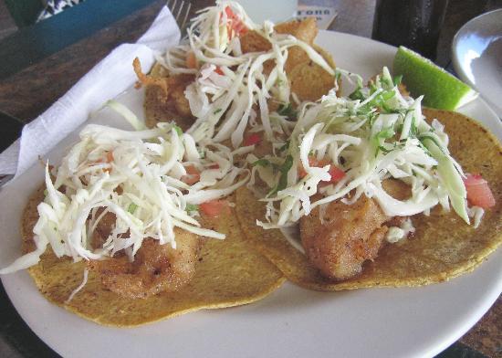 Bally Hoo Restaurant & Fish Tacos: Best fish tacos anywhere!