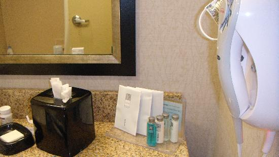 Hampton Inn & Suites West Point: Bathroom was very nice