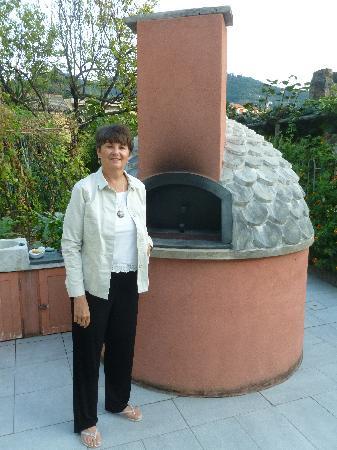 A Durmi: a genuine pizza oven