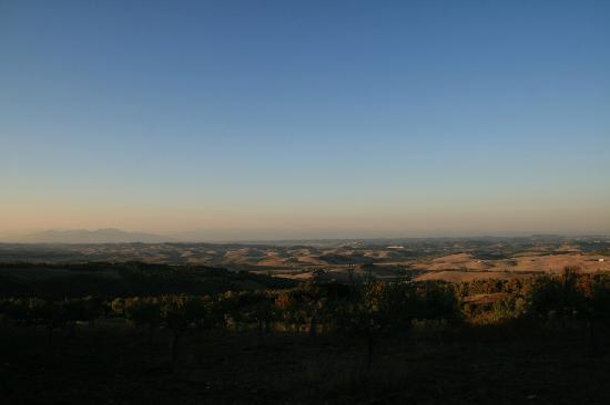 Panorama dalla Rocca di Pietracassia