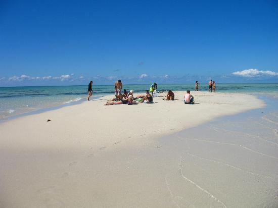 Upolu Cay: Man kann drauf gehen