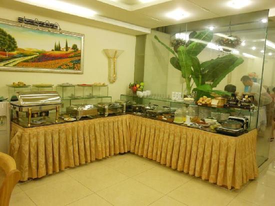 Silverland Inn Hotel: ホテルの食堂です。