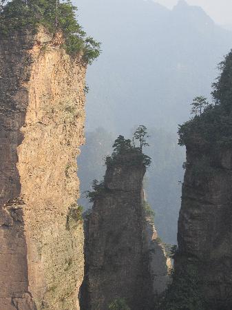 Zhangjiajie National Forest Park: Yellowstone village