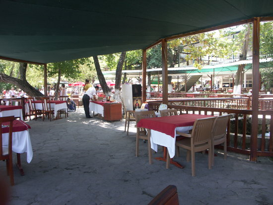 Manavgat Buyuk Selale Restaurant: General view of restaurant
