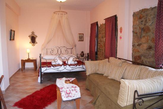 Sidirochori, กรีซ: ROOM  PENTOLVIO