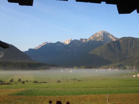 Rosengarten: Early morning view from room balcony