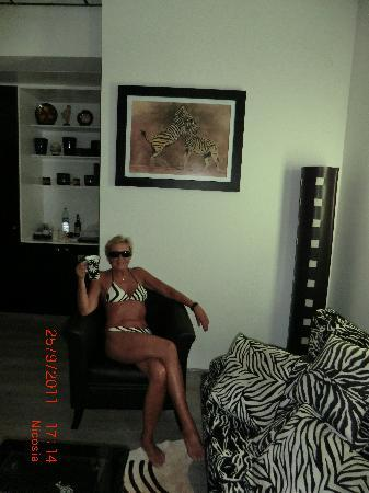 Asty Hotel: Zebra room 3