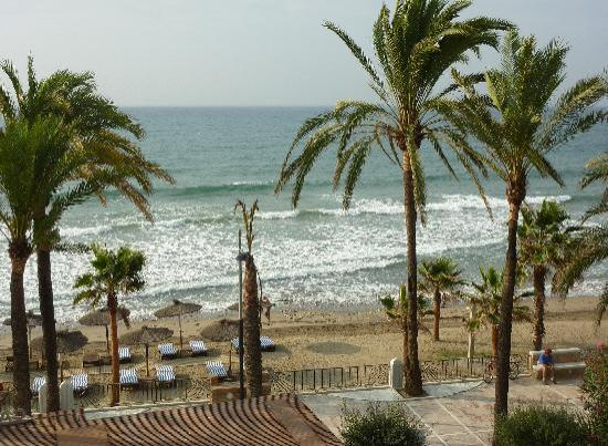 Gran Melia Don Pepe: Beach from the gardens
